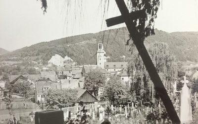 Prvý hrob na cintoríne pod Kalváriou