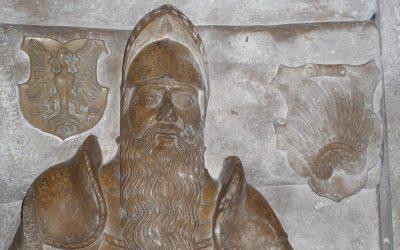 Epitaf Rafaela Podmanického v Považskej Bystrici